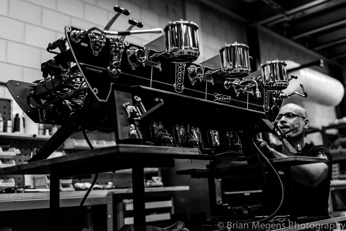 Craft of Coffee, Kees van der Westen Manufacturing