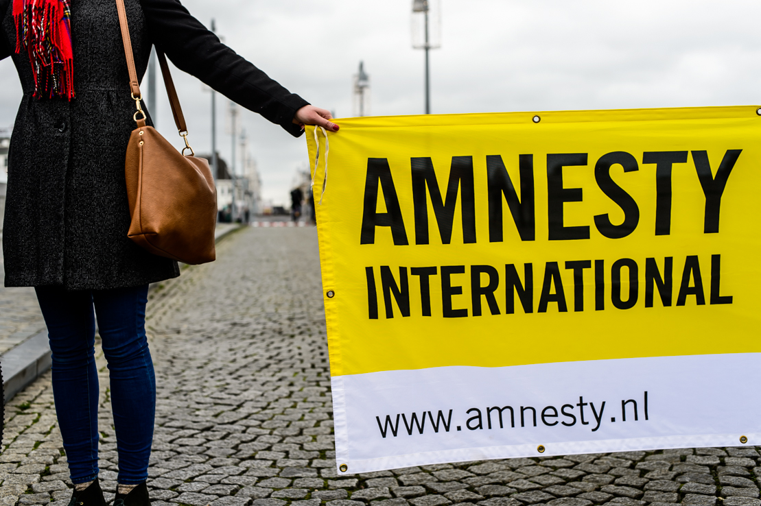 Amnesty International Demonstration Maastricht