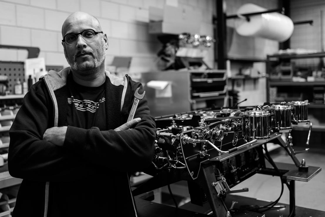 Kees van der Westen Mechanic Portrait