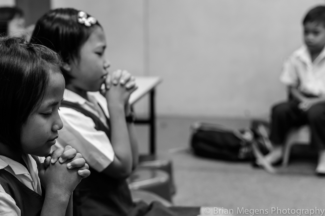 Burmese Refugees receiving education at the Alliance of Chin Refugees (ACR) learning centre, Kuala Lumpur