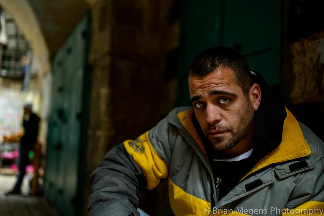 Saad, a Palestinian with Israeli ID in Jerusalem