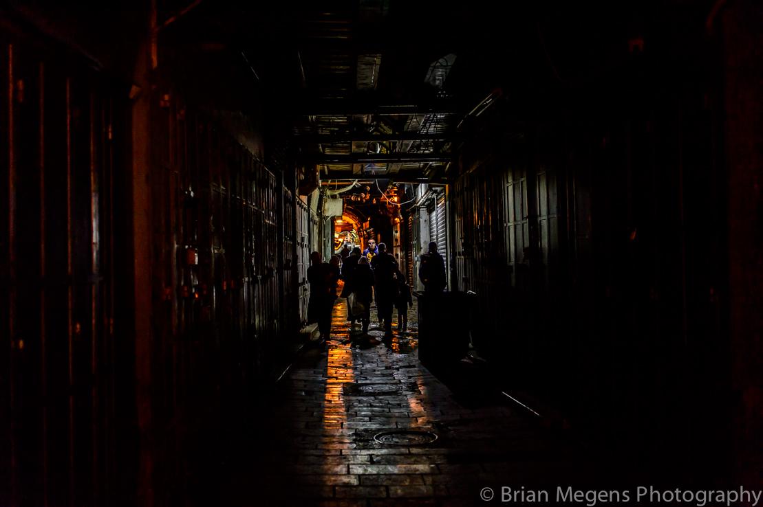 Old City Jerusalem by Night