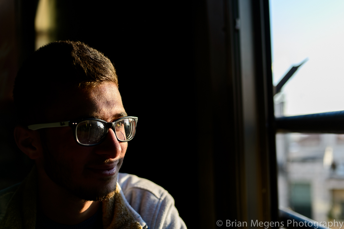 Malek, a student in computer technology at Birzeit University.