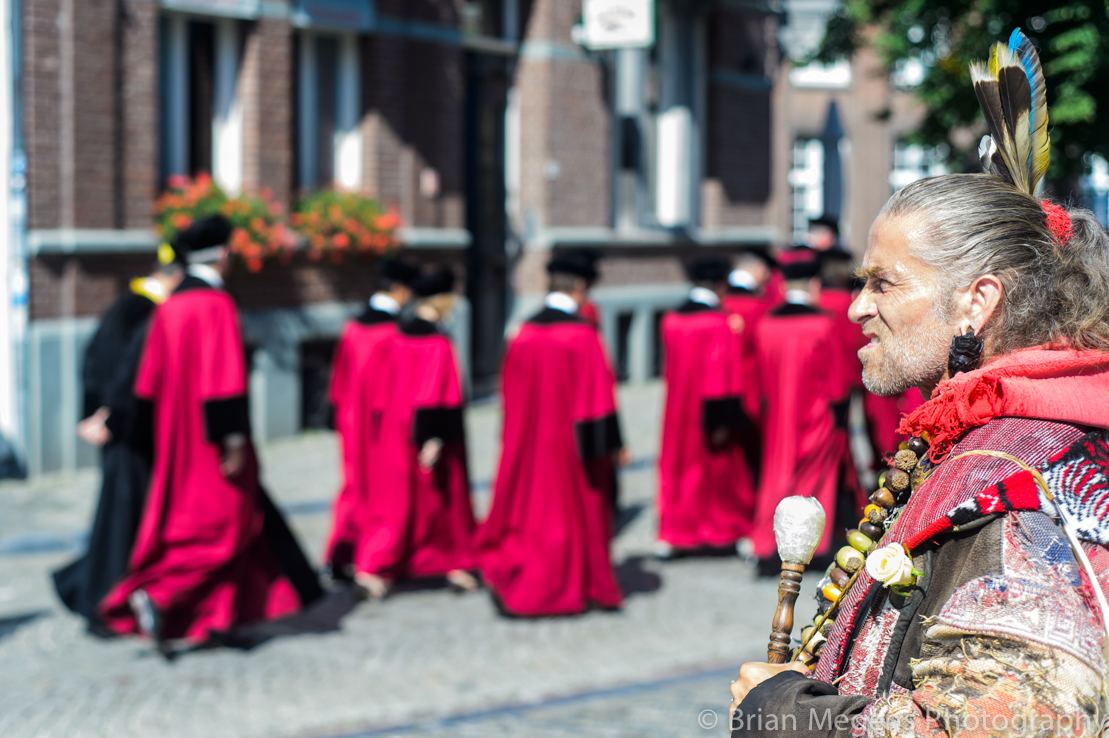 The Cortège and Gérard Purnot, the Native-American of Maastricht