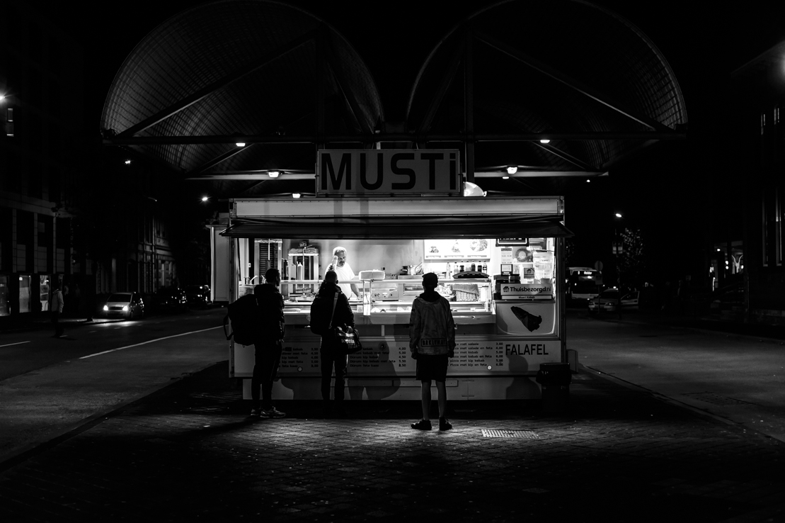 Musti Döner Kebab, feeding the hungry in Maastricht, day and night.