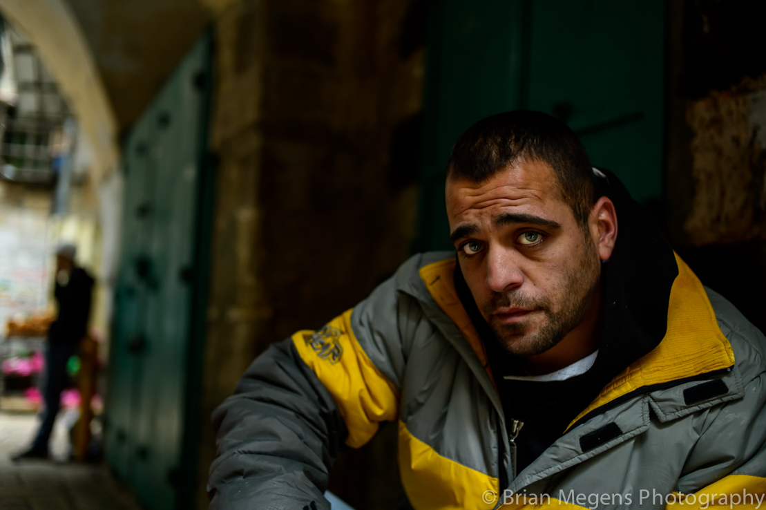 Saad, a Palestinian with Israeli ID in Jerusalem