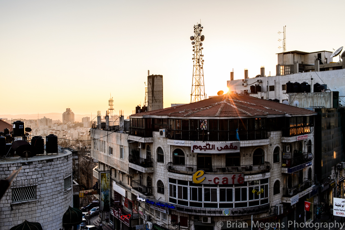 Ramallah Sunset