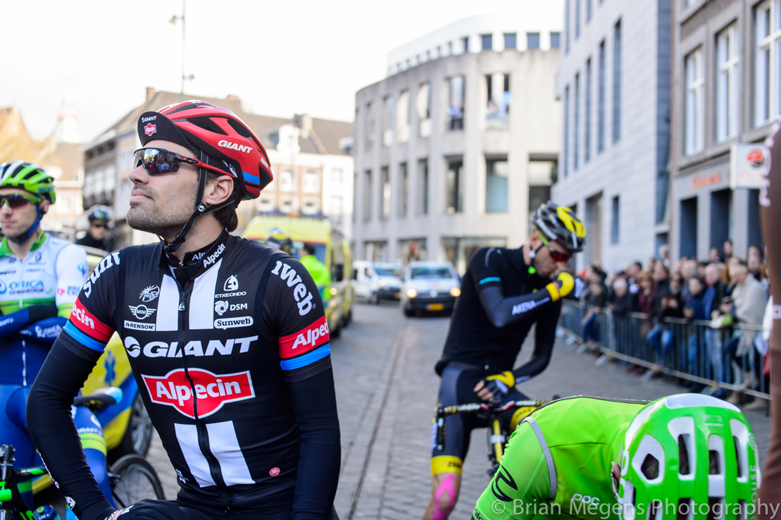 World-class cyclist Tom Dumoulin